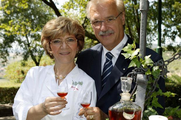Giorgio e Rosa Maria Borin (Ristorante La Montanella, Arquà Petrarca, PD)